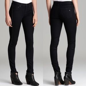 Rag & Bone Black Skinny Jean Legging